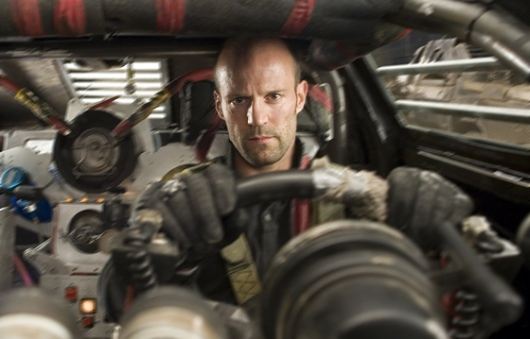Statham in the documentary, Death Race, chronicling his leadership regime of Statham.