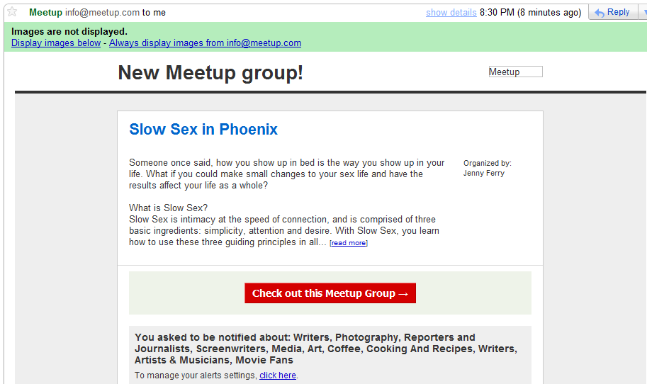 sex Meetup Milwaukee dating hendelser