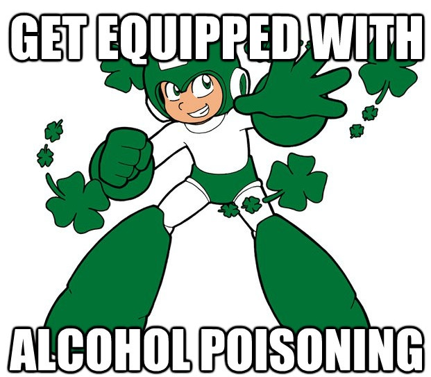 mega-man-st-patricks-day