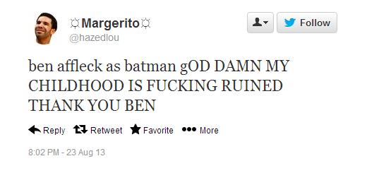 ben affleck batman rage